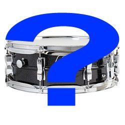 right snare drum